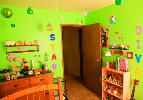 Kreative ideen zur kinderzimmergestaltung - Kinderzimmer hannah ...