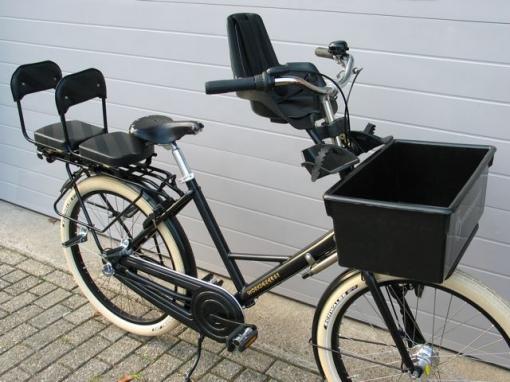 holland fahrrad mit kindersitz